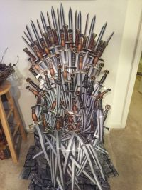 DIY Game of Thrones chair | Party Ideas | Pinterest | DIY ...