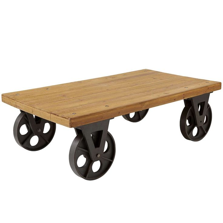 17 Best ideas about Coffee Table With Wheels on Pinterest