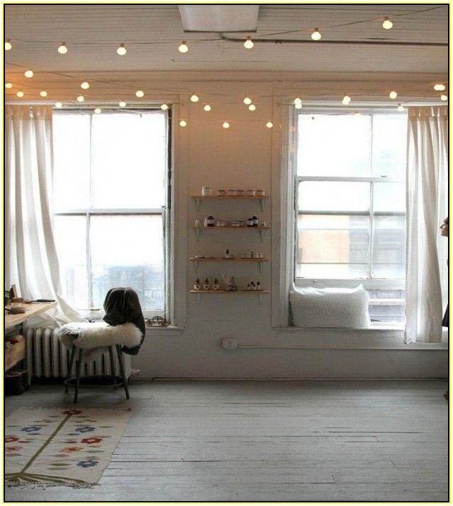 globe string lights indoor
