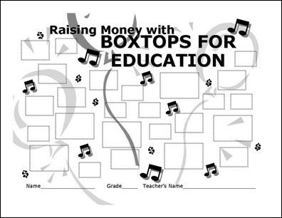 17 Best images about Boxtops for Education on Pinterest