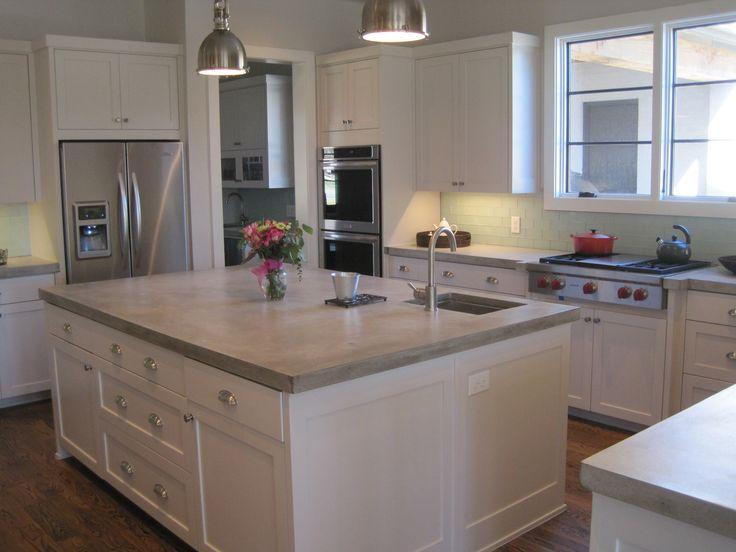 17 Best ideas about Concrete Kitchen Countertops on