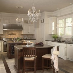 Cherry Kitchen Island Remodeling Maple White Chocolate Classic Painted Finish And Warm ...