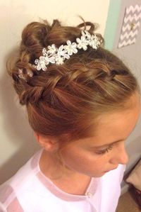 25+ best ideas about Flower girl hairstyles on Pinterest ...