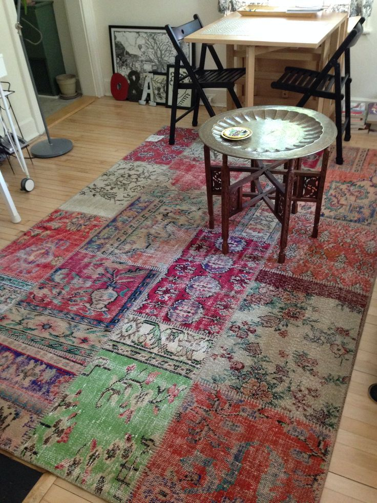 Silkeborg patchwork vintage Turkish rug from IKEA  Home  Pinterest  House rugs  Pinterest