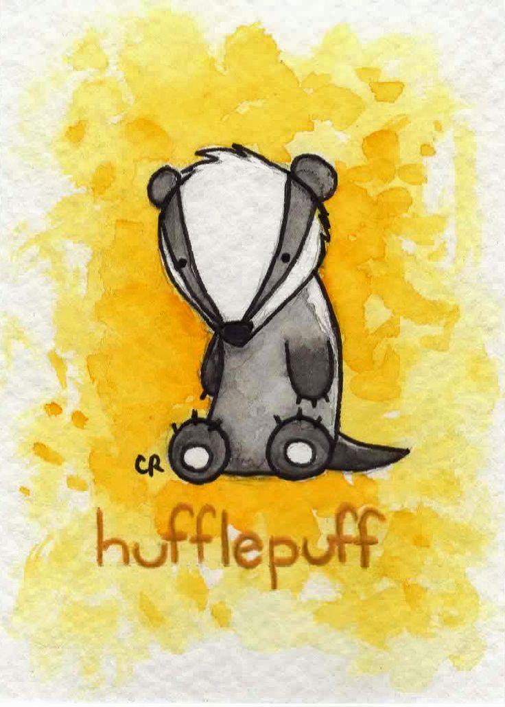 Cute Hufflepuff Wallpaper Hufflepuff By Tee Kyrin Deviantart Com On Deviantart