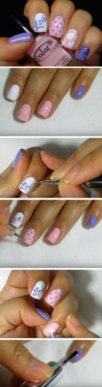 23 Cute Valentines Day Nail Art Ideas for Teens | Pink ...