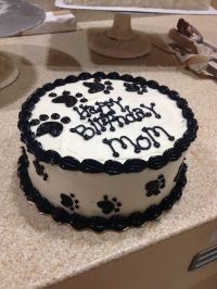 Paw print cake | Birthday ideas | Pinterest | Paw Print ...
