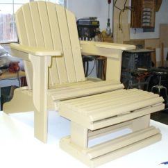 Amish Folding Adirondack Chair Plans Cool Rocking Chairs For Nursery Footstool Pattern - Woodworking Projects &