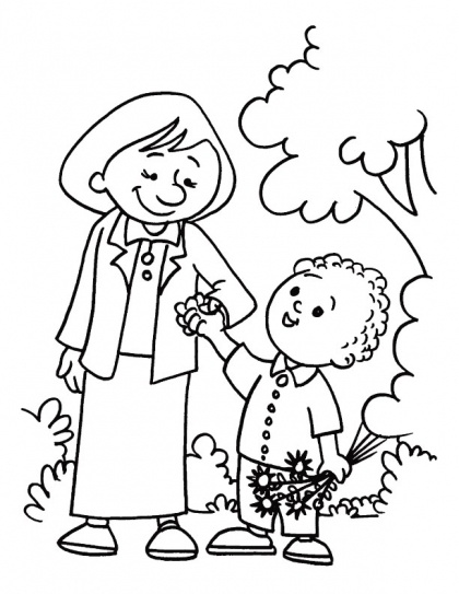 17 Best images about Mothers Day Coloring Pages on