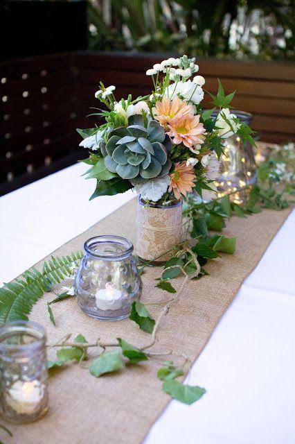 25 best ideas about Burlap table settings on Pinterest
