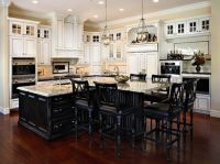 kitchen island table extension