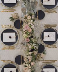 17+ best ideas about Gold Table Settings on Pinterest ...
