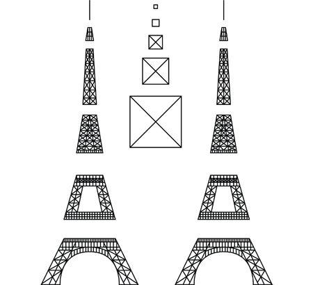 25+ best Eiffel Tower Craft trending ideas on Pinterest