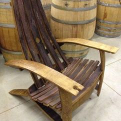 Diy Adirondack Chair Kit Folding Table And Sets Wine Barrel Plans Free - Woodworking Projects &