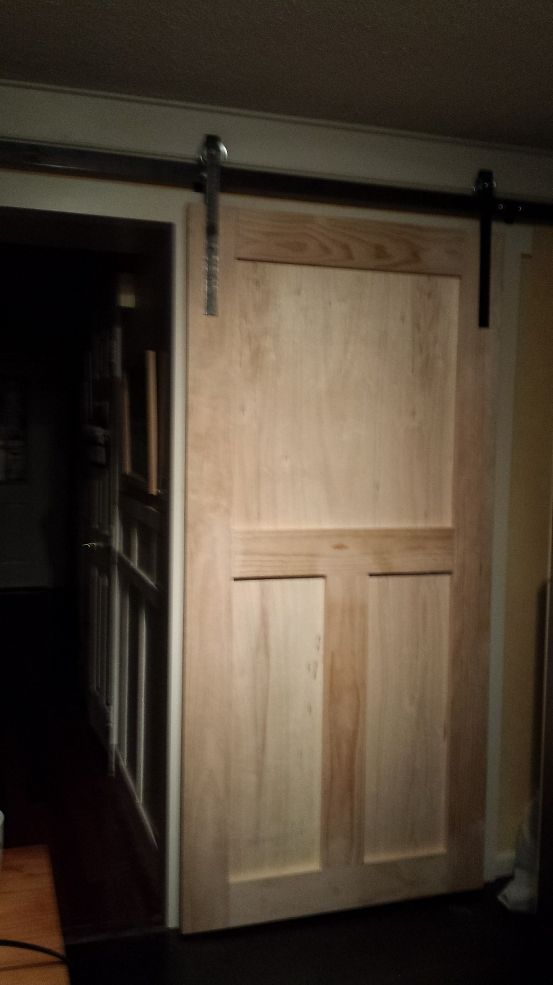 How To Build A Pantry Barn Door  Pantry For less and Doors