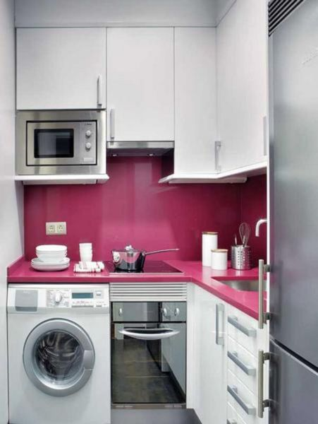 small space kitchen 1000+ images about Small Spaces on Pinterest   Apartment guide, Studio apartments and Small