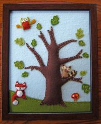 RESERVED for Emily - Woodland / Forest Animals (Lambs ...