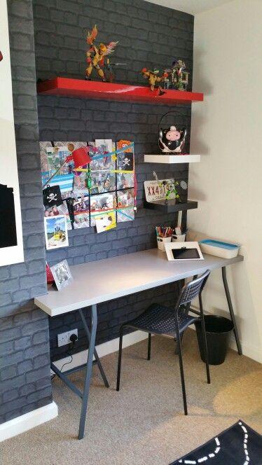 25+ best ideas about Boys desk on Pinterest