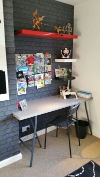 25+ best ideas about Boys desk on Pinterest | Industrial ...