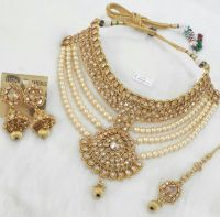 25+ best ideas about Bridal Jewellery Pearl Sets on