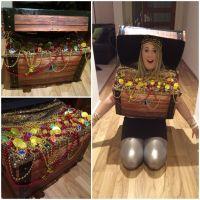 Treasure Chest/Box Costume for under the sea fancy dress ...