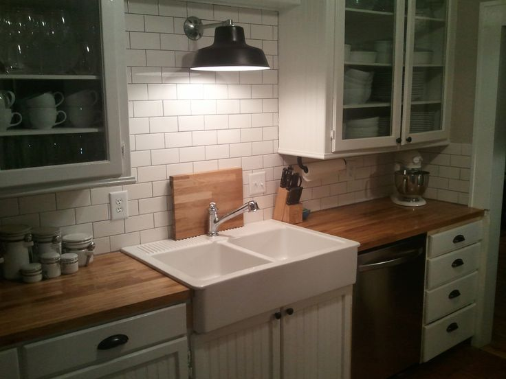 home depot kitchen sinks undermount paint color for our small diy remodel in north dakota: ikea ...