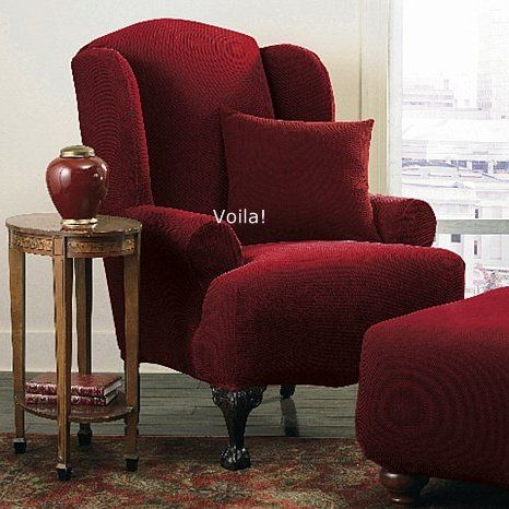 red wingback chair slipcover poppy high cover malaysia 1000+ images about furniture slipcovers on pinterest | taupe, antique gold and pique