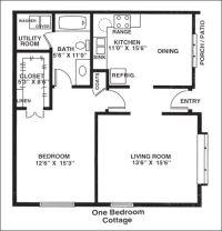 Best 25+ 1 bedroom house plans ideas on Pinterest