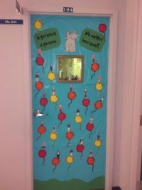 1000+ images about Dr Seuss class door decoration on
