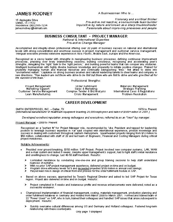 Examples Of Best Resume Examples Of Good Resumes That Get Jobs