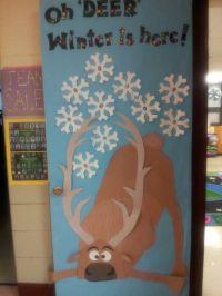 Frozen Sven winter door decoration | bulletin board ideas ...