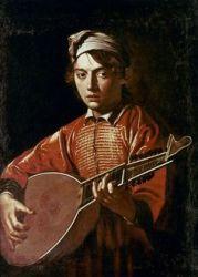 caravaggio michelangelo lute baroque merisi da player music paintings painting granger musical chiaroscuro 1571 caravage 1610 oil canvas museum renaissance