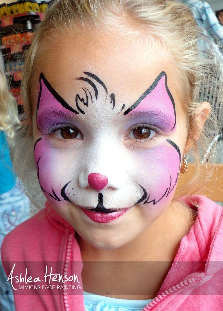 Basic Kitty Face Paint