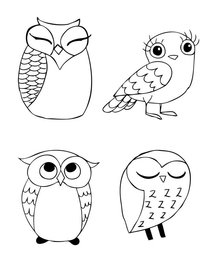 OWL-Stravaganza Pattern for Hand Embroidery. $8.00, via