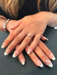 Best 25+ French acrylic nails ideas on Pinterest | French ...