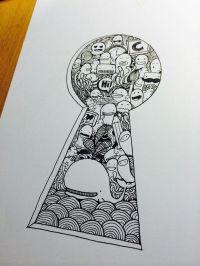 Best 25+ Key drawings ideas on Pinterest | Key heart ...