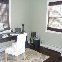 Wall Color For Gray Sofa Floor Pads Benjamin Moore Tree Moss & Dark Window Treatments   Paint ...