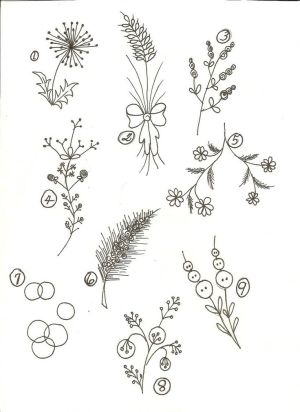 simple flowers line flower drawings drawing sketch easy floral embroidery basic google designs doodles patterns beginner lines sketches drawn library