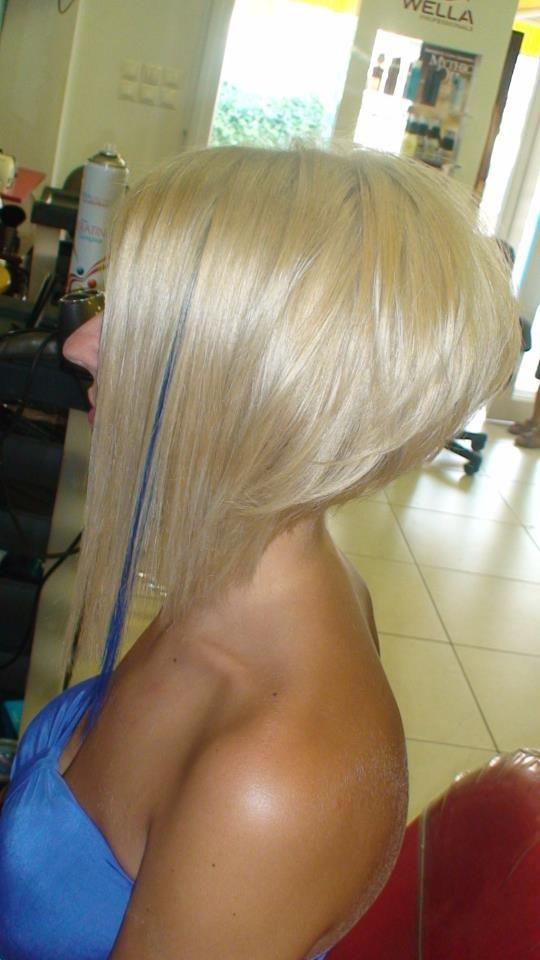love the drastic A line cut  Hair  Pinterest  My hair