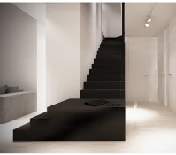 Black and white. Staircase by Moomoo. | Interior ...