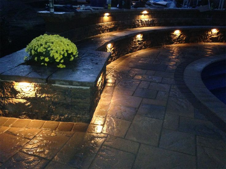 48 best images about Retaining Wall Ideas on Pinterest  Accent lighting Concrete furniture and