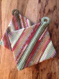 192 best images about Crochet~Potholders on Pinterest ...
