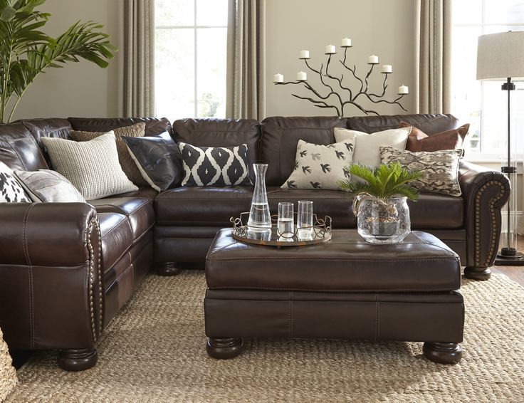 Leather Couch Decorating Ideas Living Room 25+ Best Ideas About Leather Living Rooms On Pinterest
