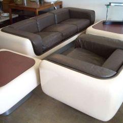 Steelcase Sofa Platner Bed Restoration Hardware Suite 4 Pieces Fiberglass, , William Andrus ...