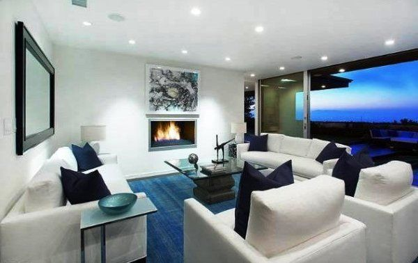 Bruno Mars Beautiful House Interior Design And Style In LA Home