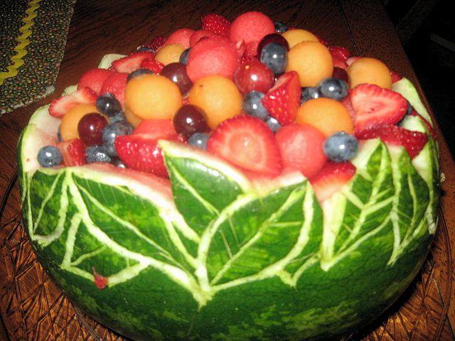 Gallery Easy Watermelon Fruit Bowl