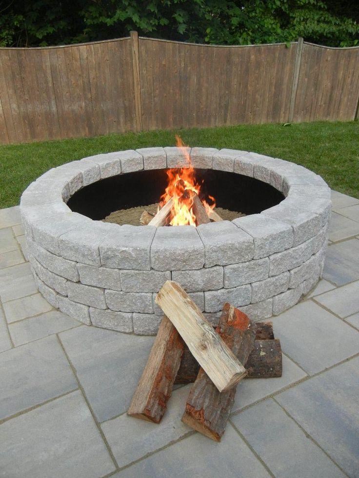 Best 25+ Fire pit ring insert ideas on Pinterest
