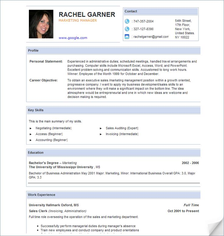 best resume examples for your job search   livecareer. example of ...