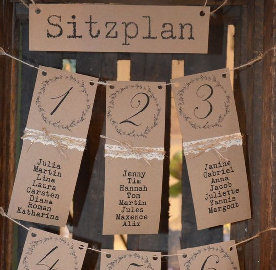 Die 25 besten Ideen zu Sitzplan hochzeit auf Pinterest  Sitzordnung