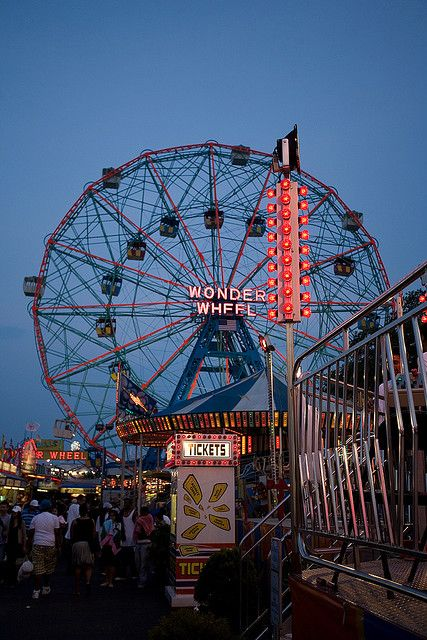 Coney island is our favorite spot in NYC.  Beach, great food, cool shops and lot